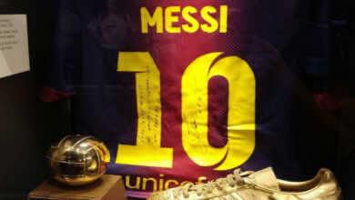 من سيحمل رقم 10 بعد ميسي في برشلونة؟