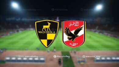 موعد مباراة الاهلي ووادي دجلة في الدوري المصري والقنوات الناقلة