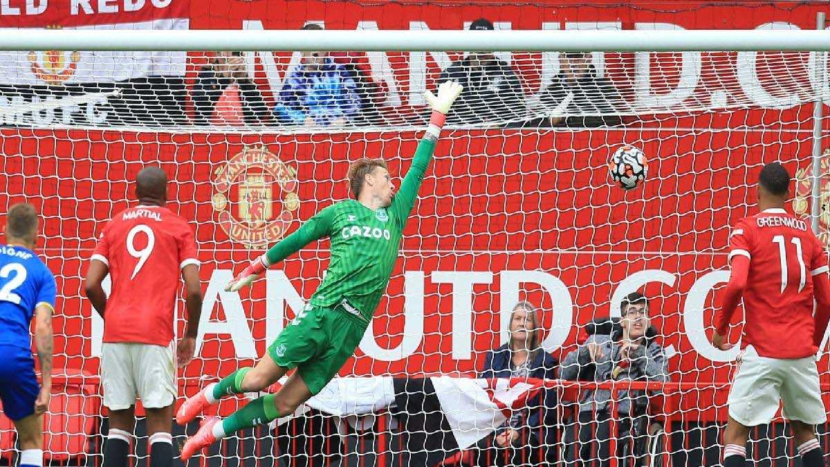 شاهد فيديو اهداف مباراة مانشستر يونايتد وايفرتون في تحضيرات الموسم الجديد (صور:AFP)