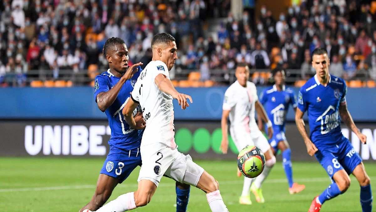 افتتاح الدوري الفرنسي | شاهد فيديو اهداف مباراة باريس سان جيرمان وتروا (صور:twitter)