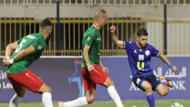 نتيجة مباراة الوحدات والرمثا في الدوري الاردني