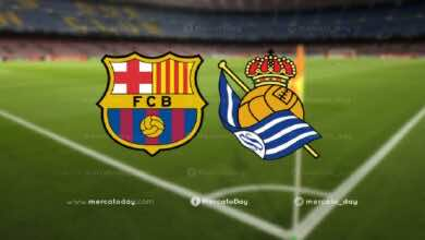 موعد مباراة برشلونة وريال وسوسيداد في الدوري الاسباني والقنوات الناقلة والمعلق