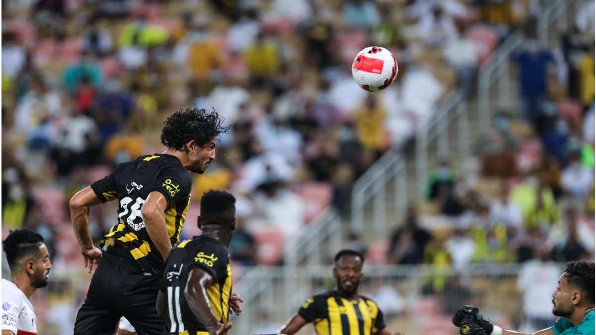 شاهد فيديو اهداف مباراة الاتحاد والرائد في الدوري السعودي (صور:twitter)