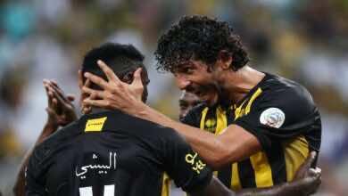 نتيجة مباراة الاتحاد والرائد في الدوري السعودي (صور:twitter)