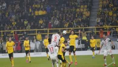 شاهد فيديو اهداف مباراة بايرن ميونخ وبوروسيا دورتموند في كأس السوبر الالماني (صور:twitter)