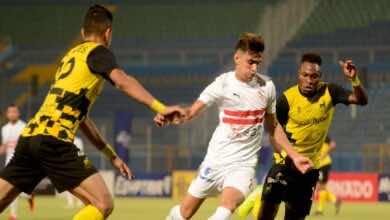 الزمالك يهزم وادي دجلة ويقترب خطوة كبيرة من حسم لقب الدوري المصري (صور:twitter)