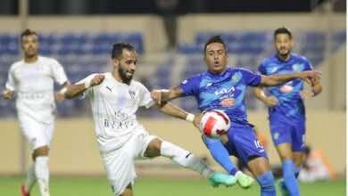 نتيجة مباراة الفتح والفيحاء في الدوري السعودي (صور:twitter)