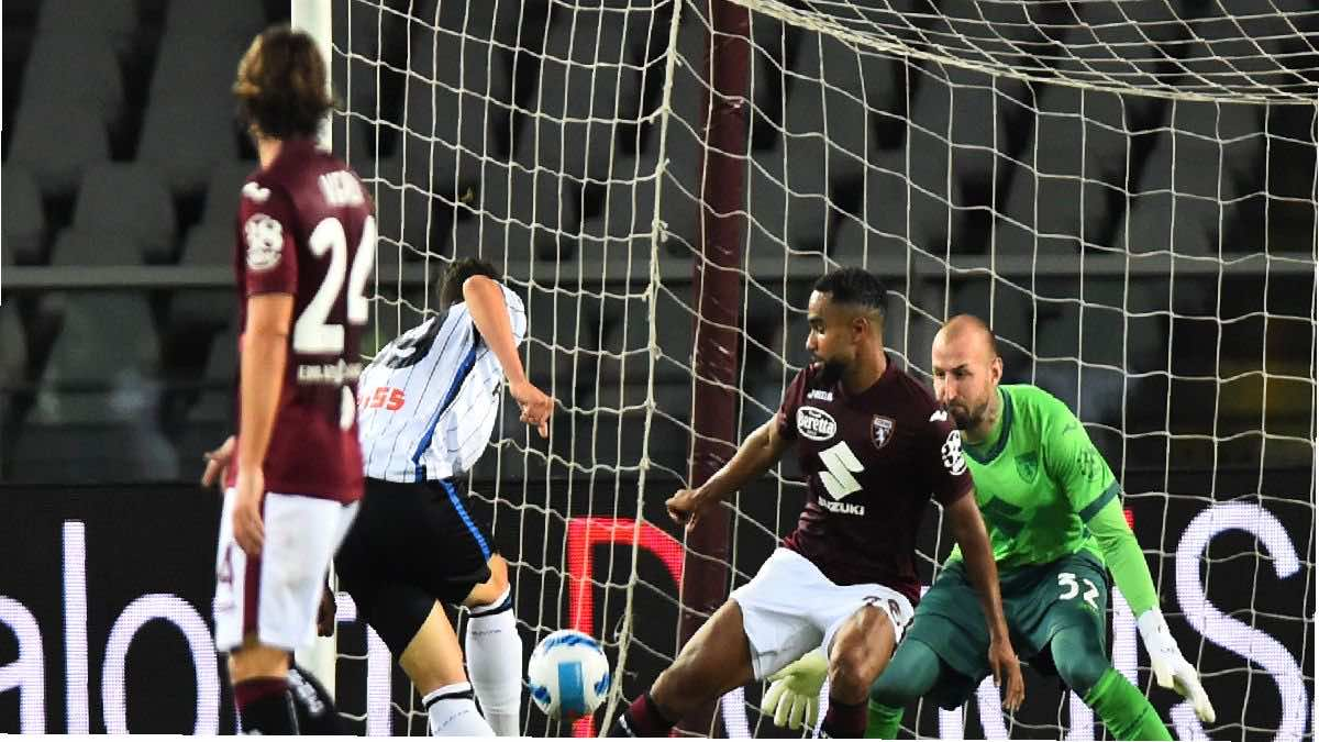 شاهد فيديو اهداف مباراة اتلانتا وتورينو في الدوري الايطالي (صور:AFP)