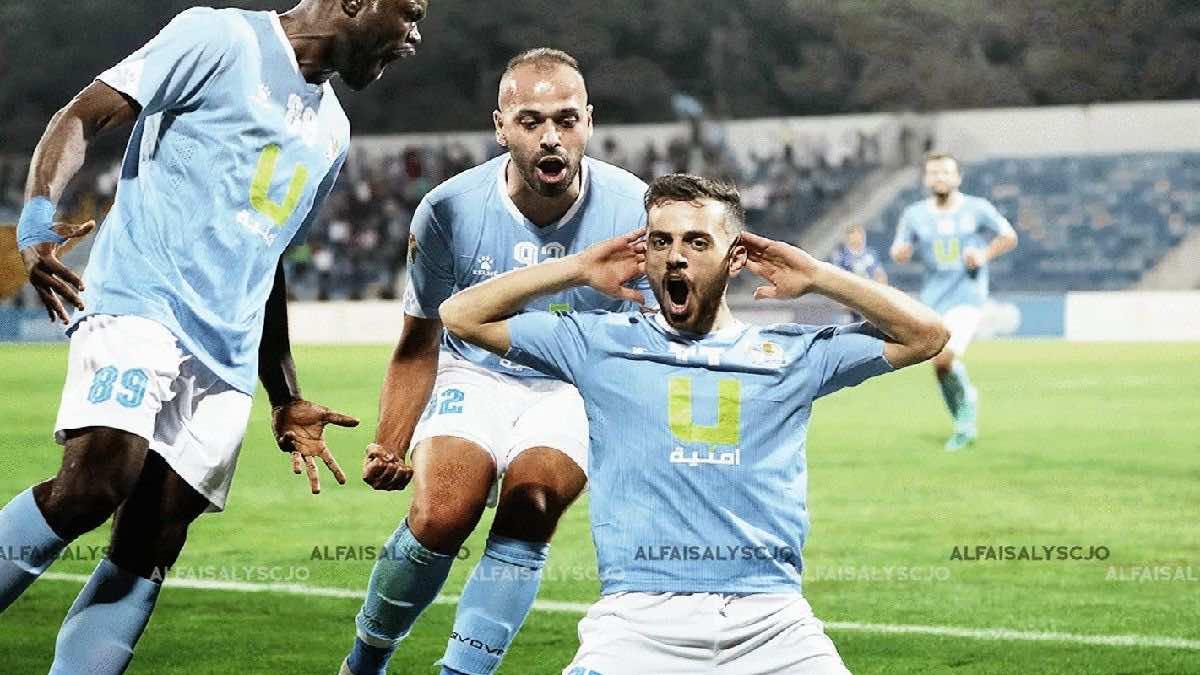 شاهد فيديو اهداف مباراة الفيصلي والرمثا في كأس الاردن (صور:twitter)
