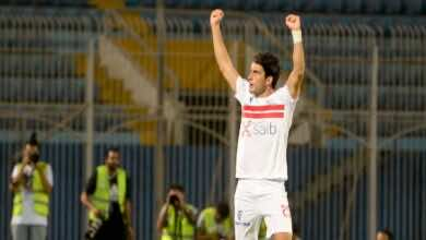 نتيجة مباراة الزمالك والانتاج الحربي في الدوري المصري (صور:twitter)