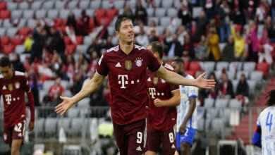 شاهد فيديو اهداف مباراة بايرن ميونخ وهيرتا برلين في الدوري الالماني