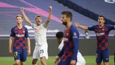 قرعة دوري ابطال اوروبا 2021-2022 تمنح برشلونة فرصة للانتقام من بايرن ميونخ