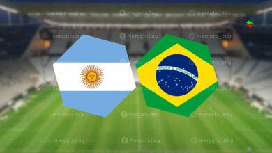 بث مباشر البرازيل والارجنتين في تصفيات كأس العالم 2022 رابط يلا شوت