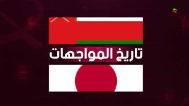 تاريخ مواجهات عمان واليابان قبل افتتاح المرحلة الأخيرة من تصفيات كأس العالم 2022