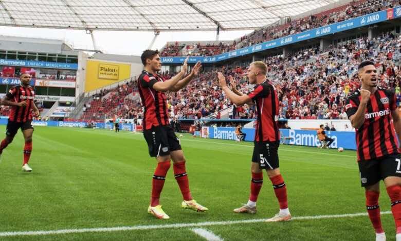 نتيجة مباراة باير ليفركوزن ومونشنجلادباخ في الدوري الالماني «شيك يقتل رفاق بنسبعيني»