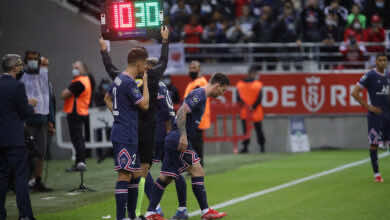 نتيجة باريس سان جيرمان ورانس في الدوري الفرنسي.. انتصار رابع في ليلة ظهور ميسي