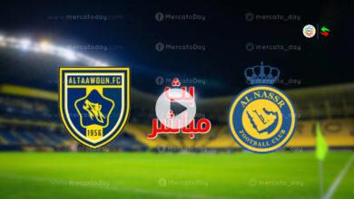 مشاهدة مباراة النصر والتعاون في بث مباشر يلا شوت بـ الدوري السعودي