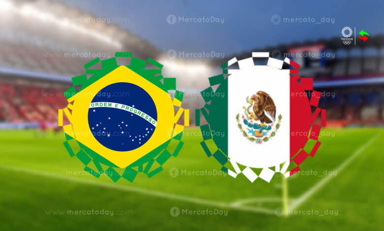 ملخص مباراة البرازيل والمكسيك في اولمبياد طوكيو 2020.. السيليساو يقترب من الذهب