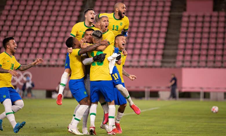 نتيجة مباراة البرازيل والمكسيك في اولمبياد طوكيو 2020.. السامبا إلى النهائي الثالث تواليًا