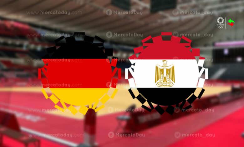 ملخص مباراة مصر والمانيا لـ كرة اليد في اولمبياد طوكيو 2020.. الفراعنة إلى المربع الذهبي