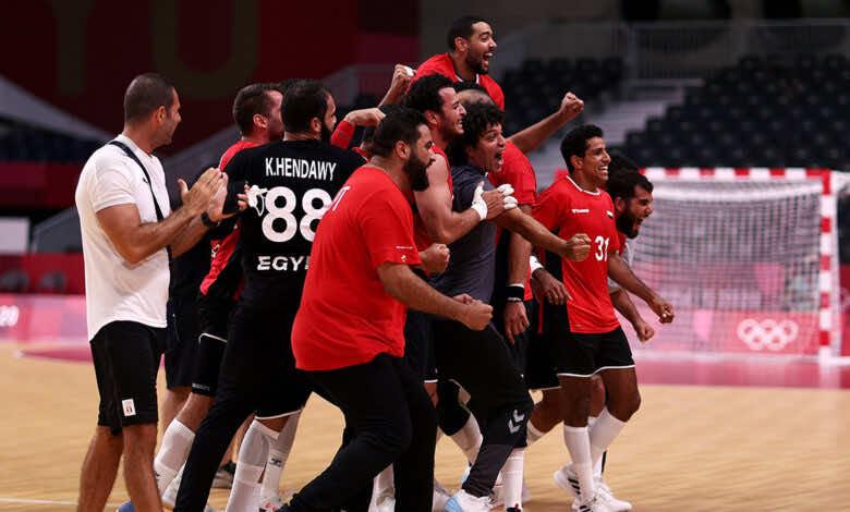 نتيجة مصر والمانيا لـ كرة اليد في ربع نهائي اولمبياد طوكيو 2020