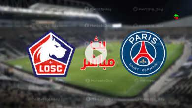 ملخص مباراة باريس سان جيرمان وليل في كأس السوبر الفرنسي