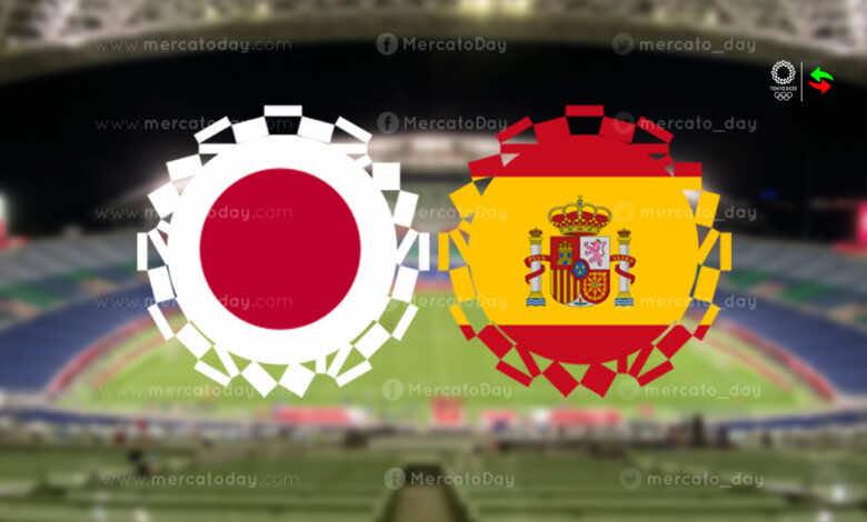 ملخص مباراة اسبانيا واليابان في اولمبياد طوكيو 2020