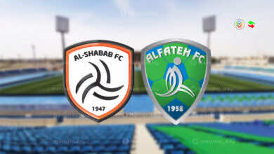 موعد مباراة الشباب والفتح في الدوري السعودي والقنوات الناقلة