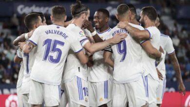نتيجة مباراة ريال مدريد وليفانتي في الدوري الاسباني لحظة بلحظة