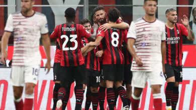 نتيجة مباراة ميلان وكالياري في الدوري الايطالي.. الروسونيري يواصل انطلاقته القوية
