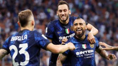 نتيجة مباراة انتر ميلان وجنوى في الدوري الايطالي.. بداية نارية للأفاعي