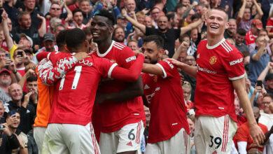 نتيجة مانشستر يونايتد وليدز في الدوري الانجليزي.. الشياطين الحمر تُسحق الطواويس