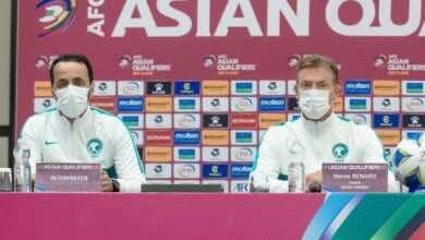 هيرفي رينارد: مباراة عمان صعبة وفوزهم على اليابان ليس مفاجأة