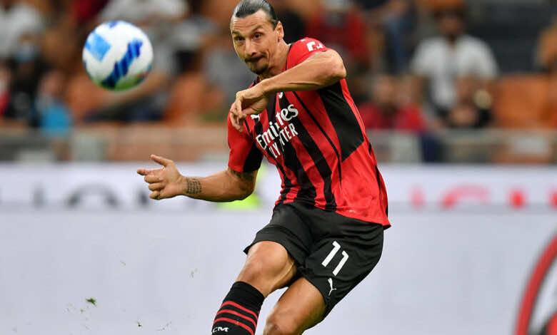 ميلان بدون زلاتان إبراهيموفيتش أمام ليفربول في دوري أبطال أوروبا