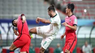 نتيجة مباراة العراق وكوريا الجنوبية في تصفيات كأس العالم 2022..«تعادل مُخيب»