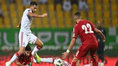 نتيجة مباراة الامارات ولبنان في تصفيات كأس العالم 2022 (صور:twitter)