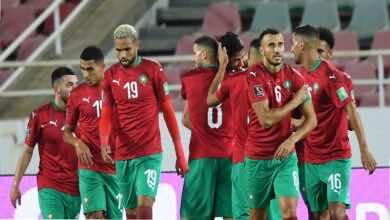 شاهد فيديو اهداف مباراة المغرب والسودان في تصفيات كأس العالم 2022..الأسود تلتهم الصقور