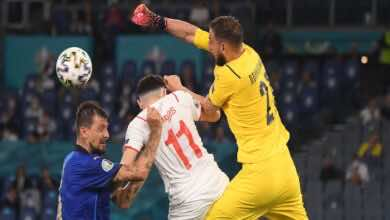 موعد مباراة ايطاليا وسويسرا في تصفيات كأس العالم 2022..القنوات الناقلة