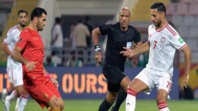 شاهد فيديو اهداف مباراة سوريا والامارات في تصفيات كأس العالم 2022 (صور:twitter)