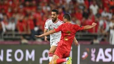 نتيجة مباراة سوريا والامارت في تصفيات كأس العالم 2022