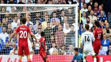 ملخص واهداف مباراة ليفربول وليدز يونايتد في الدوري الانجليزي (صور:AFP)