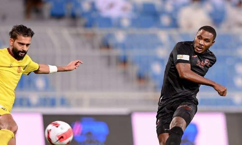 شاهد فيديو اهداف مباراة الشباب والحزم في الدوري السعودي (صور:twitter)