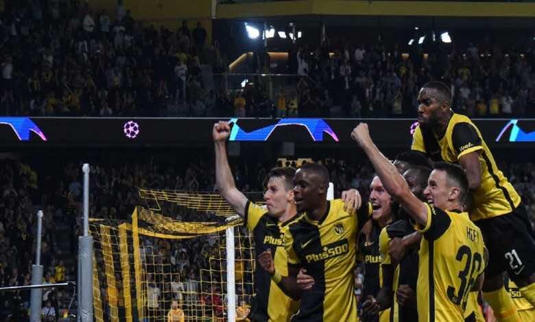 نتيجة مباراة مانشستر يونايتد ويونج بويز في دوري ابطال اوروبا