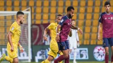 التعادل الايجابي يخيم على مباراة الوصل والوحدة في الدوري الاماراتي