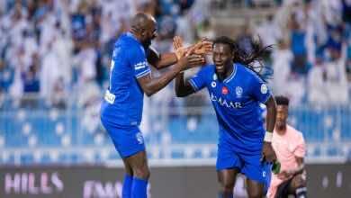نتيجة مباراة اليوم بين الهلال والاتفاق في الدوري السعودي..ثلاثية زرقاء وصدارة مؤقتة (صور:twitter)