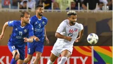 شاهد فيديو اهداف مباراة الكويت والسلط في كأس الاتحاد الآسيوي