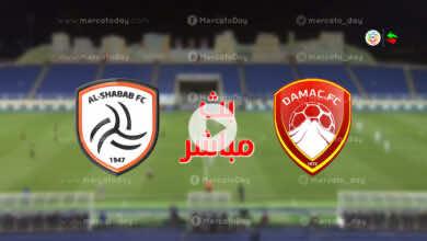 البث المباشر | مشاهدة مباراة الشباب وضمك في بث مباشر يلا شوت ببطولة الدوري السعودي