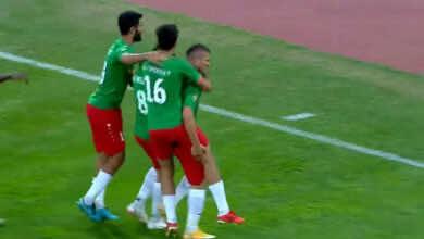 شاهد فيديو اهداف مباراة الوحدات والجزيرة في كأس الاردن.. العوضات يحسمها للأخضر