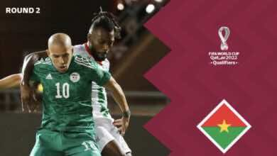 نتيجة مباراة الجزائر وبوركينا فاسو في تصفيات كأس العالم 2022 «تعادل مُحبط في مراكش»