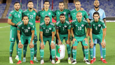 ما هو موعد مباراة الجزائر القادمة في تصفيات كأس العالم 2022.. الجولة 3 و4؟